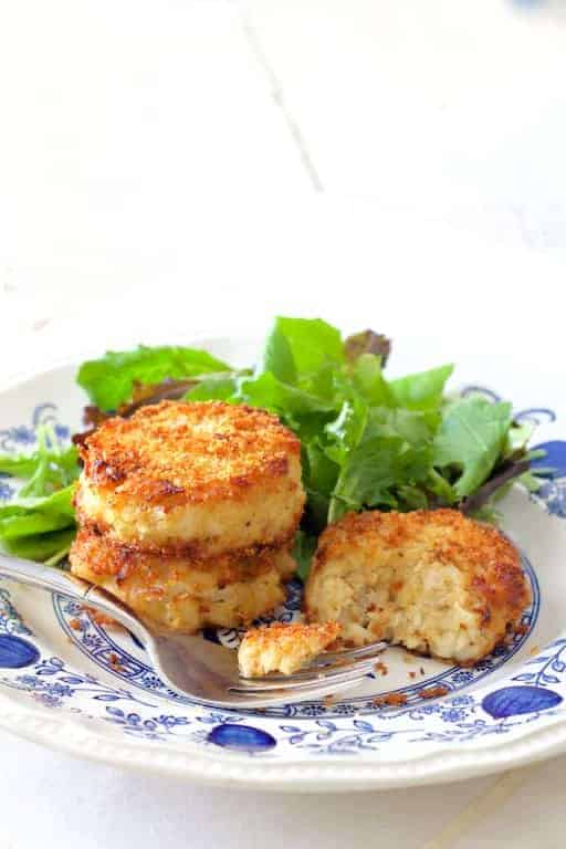 These Maryland-style crab cakes from a recipe handed down several generations are the REAL DEAL!