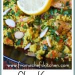 You and your dinner partner may feel as though you've made a quick midwinter escape to Morocco with this spicy roasted chicken and colorful couscous dish!