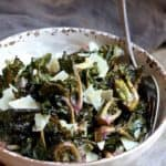 Balsamic Roasted Kale Sprouts