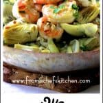 Shrimp Scampi with Shallots and Artichokes is a combination that is sheer genius and is perfect for spring!