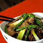 Sesame Beef and Asparagus Stir Fry