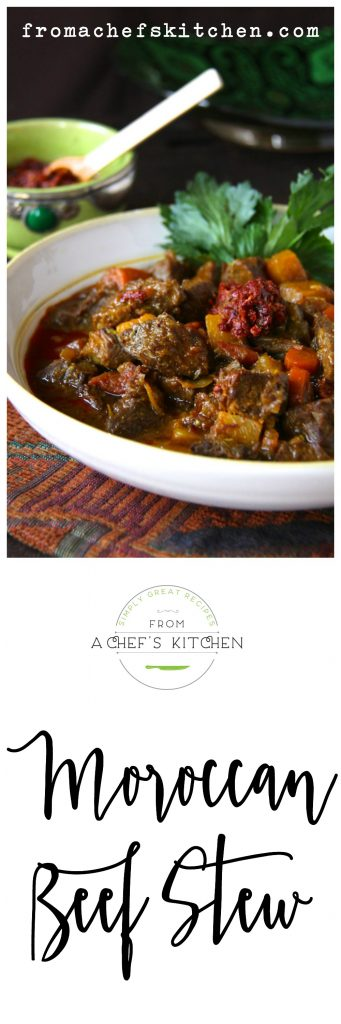 Moroccan Beef Stew with Harissa - A taste of the exotic!