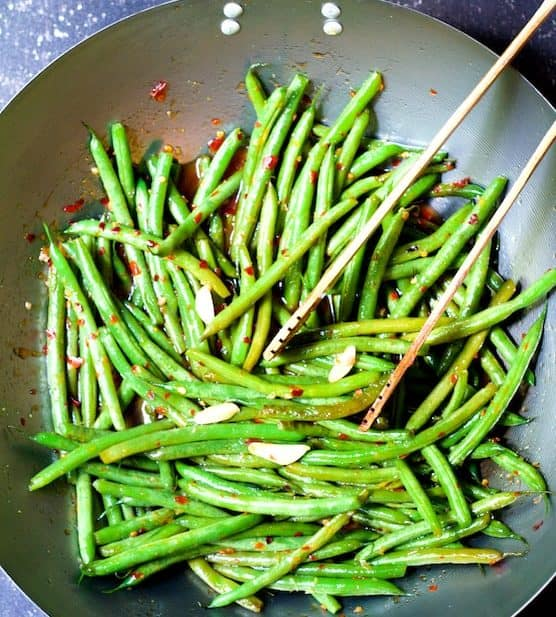 Thai Sweet Chili Green Beans