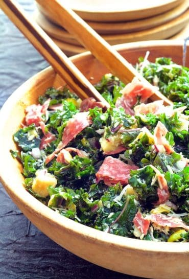Pull this Massaged Kale Antipasto Salad together with what you probably already have on hand!