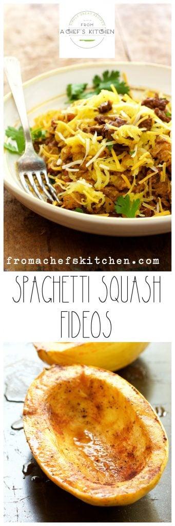Spaghetti Squash Fideos - Finally, a spaghetti squash dish to love!