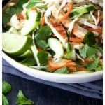 Vietnamese Chicken Salad is full of fresh herbs, vegetables and flavor!