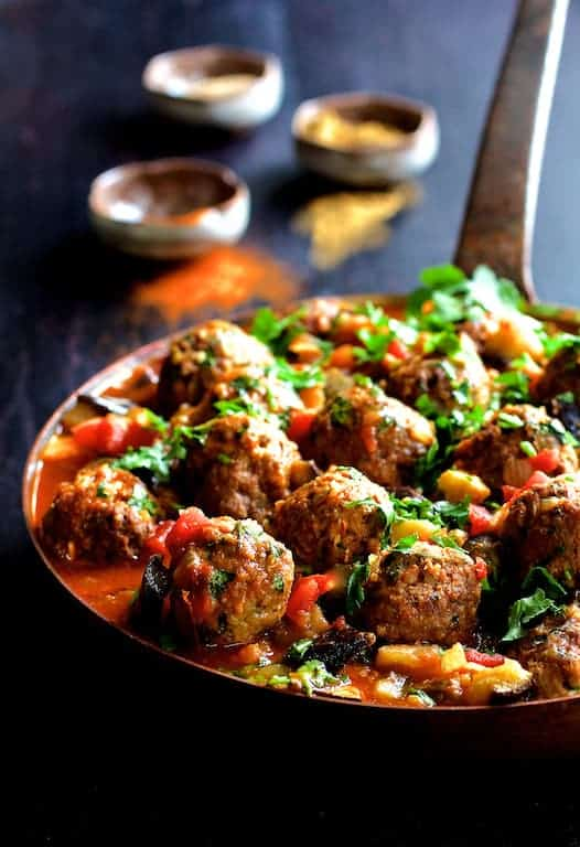 Moroccan Meatball and Vegetable Ragout is sure to spice up your night!
