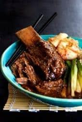 Korean Braised Beef Short Ribs
