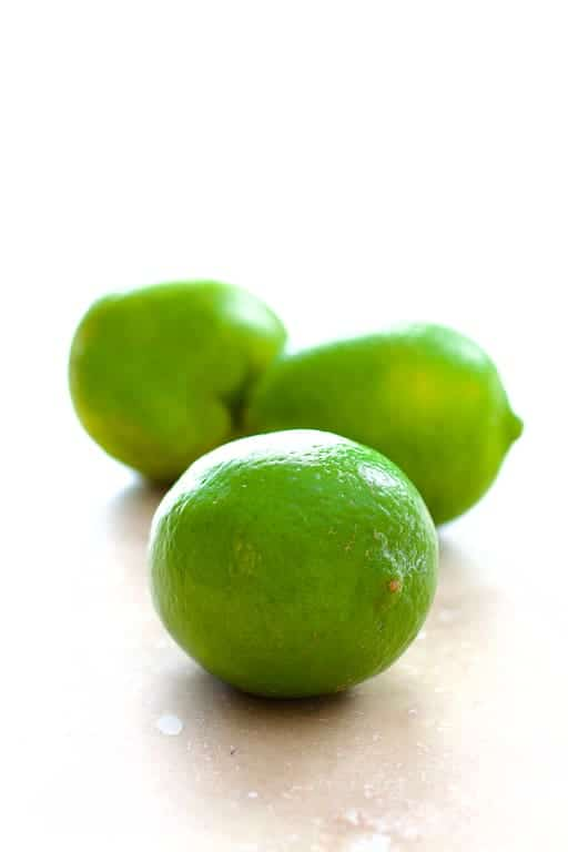 Photo of fresh limes