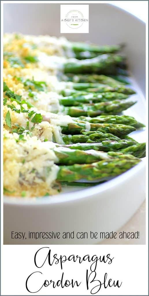 Asparagus Cordon Bleu