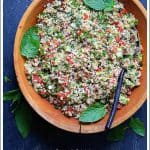 Pinterest image for Tabouli with Fresh Jalapeno