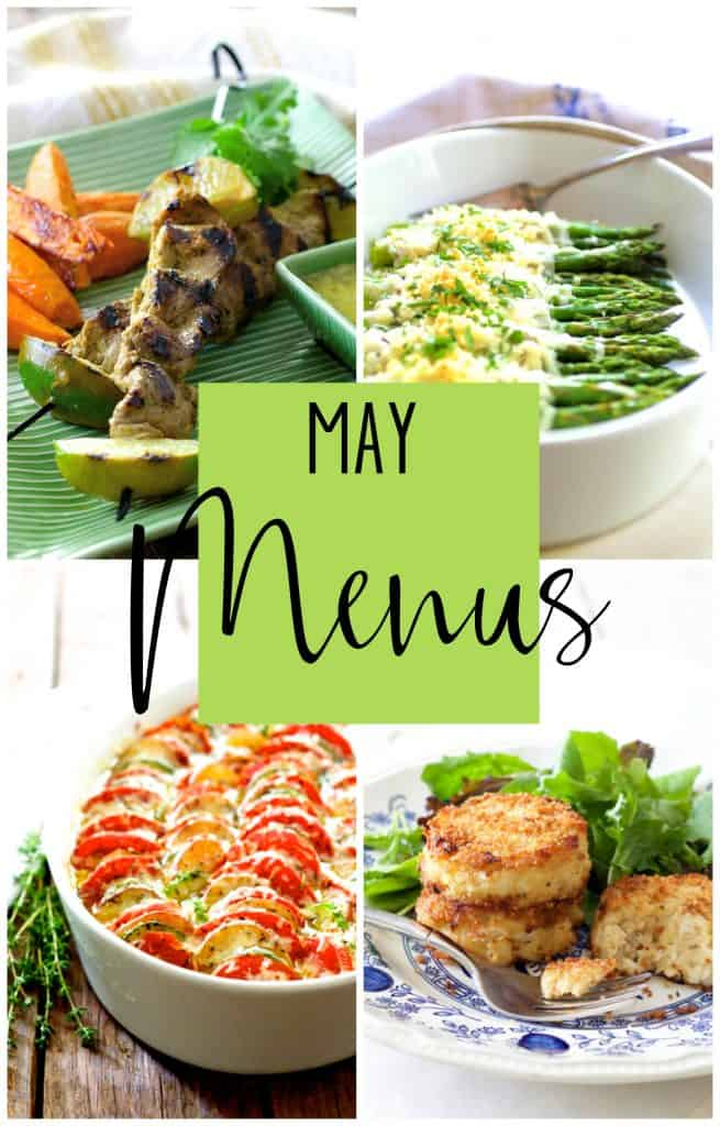 May Personal Chef Menus