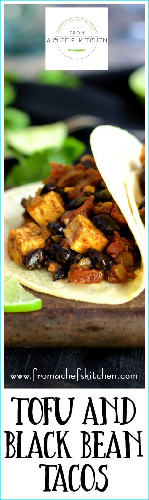 It's tough to miss the meat with these easy, protein-packed Tofu and Black Bean Tacos!