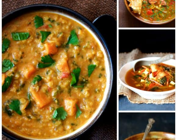 Soup's On!  Seven Soups to Kick Off Your Autumn!