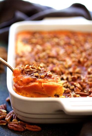 Jeannie's Sweet Potato Souffle