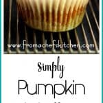 Simply Pumpkin Muffins are light, low in fat, easy to make and await any embellishment you wish to bestow upon them! Kids love them because they're...simply pumpkin muffins!