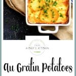 Au Gratin Potatoes for Two is a wonderful side dish to pair with anything you choose to make at home for an intimate dinner!