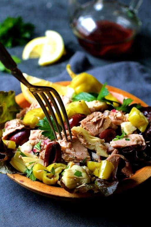 Quick Pantry Mediterranean Tuna Salad