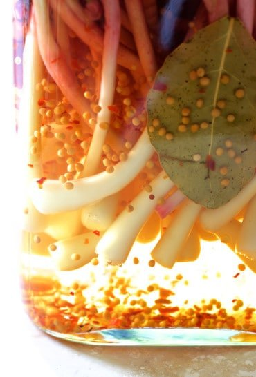 Ramps in pickling brine