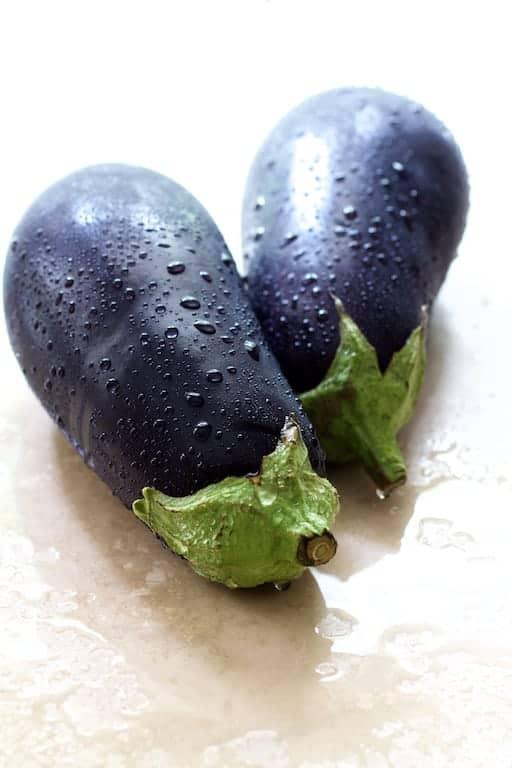 Eggplant Parmesan Stacks - Whole Eggplant