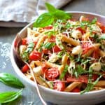 Caprese Pizza Pasta Salad