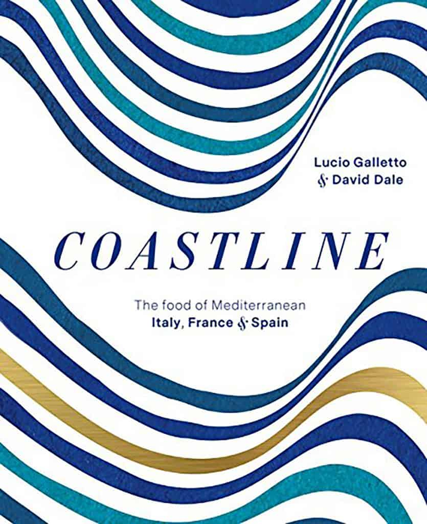 Photo of the cover of Coastline, The Food of Mediterranean Italy, France and Spain.