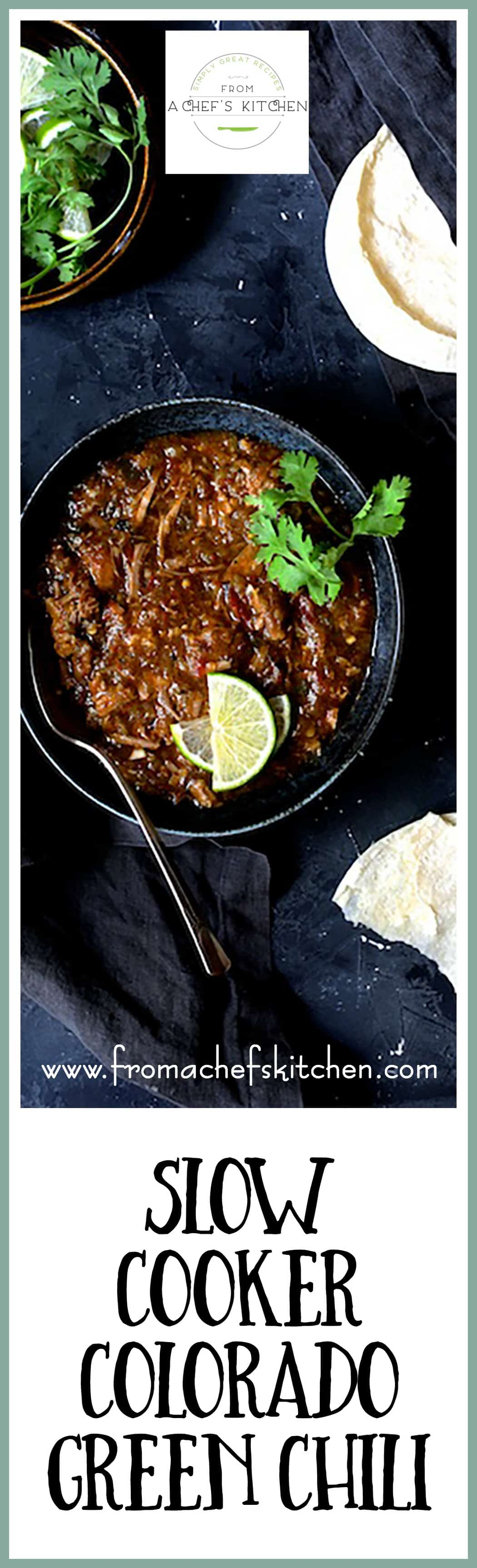 Slow Cooker Colorado Green Chili From A Chef S Kitchen