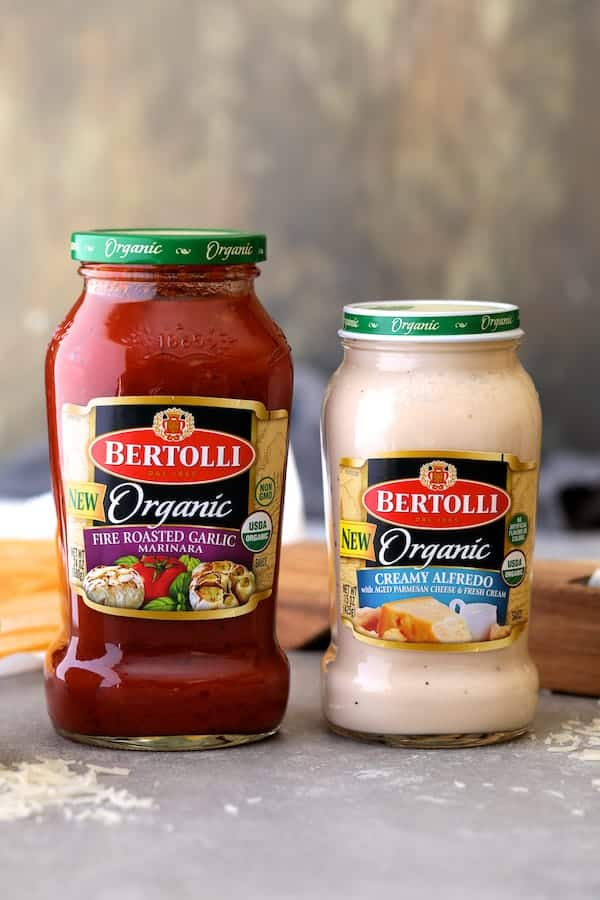 Seared Sea Scallops with Spicy Bacon and Sun Dried Tomato Alfredo Sauce [Bertolli) - Product Shot #3