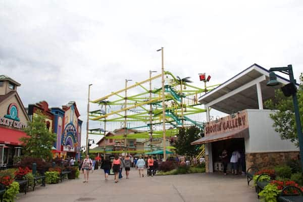 Pigeon Forge - Island - Climbing Attraction