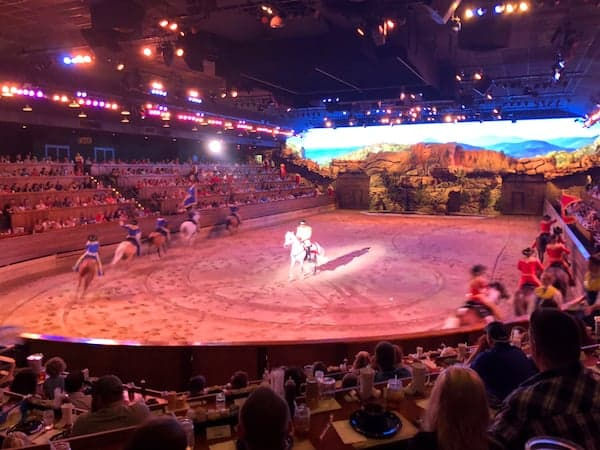 Pigeon Forge - Stampede - More of the Show