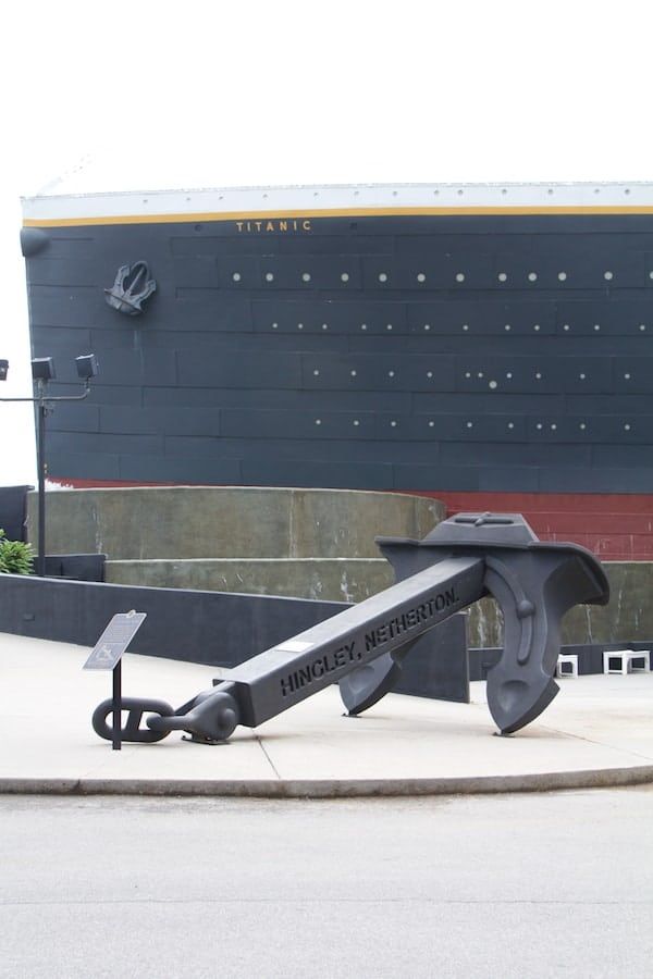Pigeon Forge - Titanic - Anchor 2