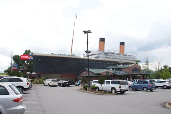 Pigeon Forge - Titanic - Exterior of Attraction