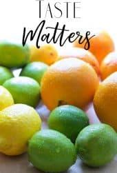 Taste Matters - Citrus