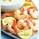 Pinterest image for Shrimp Cocktail Louis