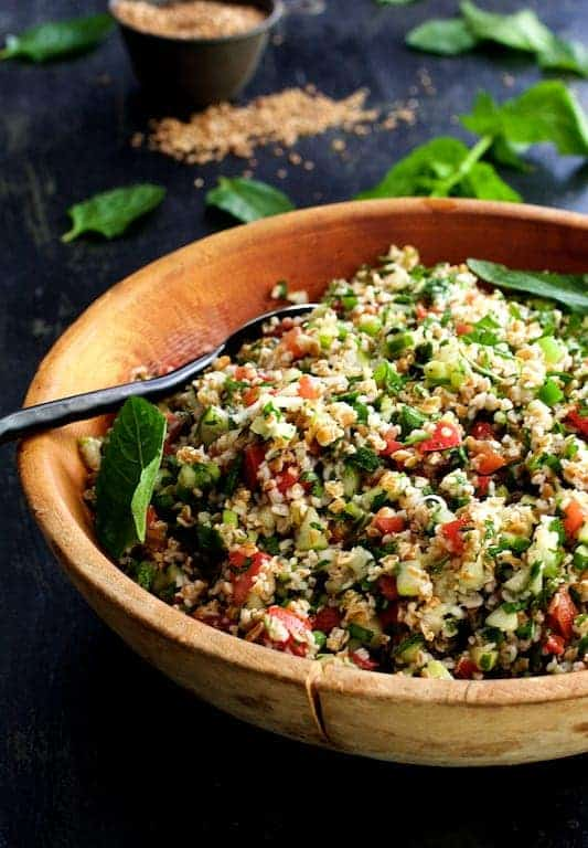 Tabouli (Tabbouleh) with Fresh Jalapeno