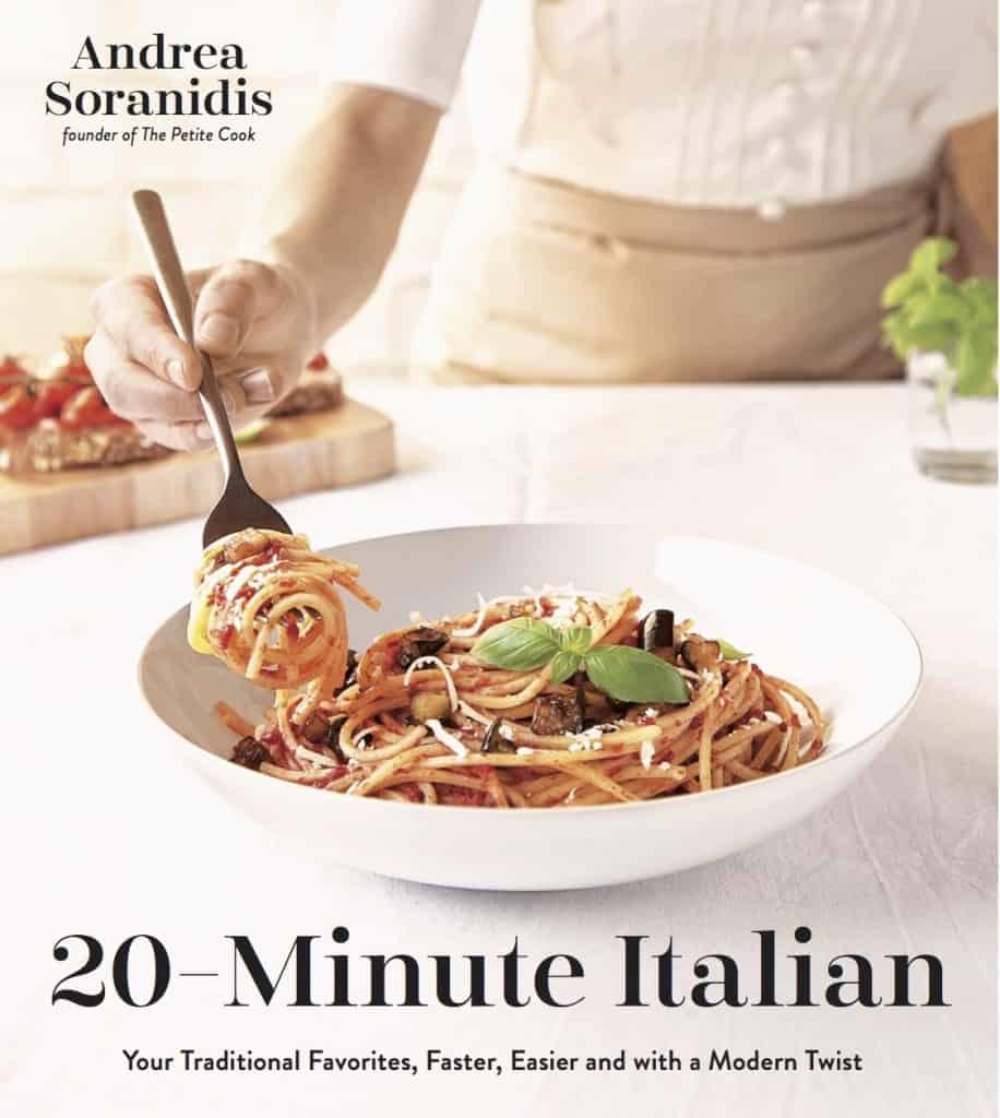 Photo of the cover of 20-Minute Italian by Andrea Soranidis.