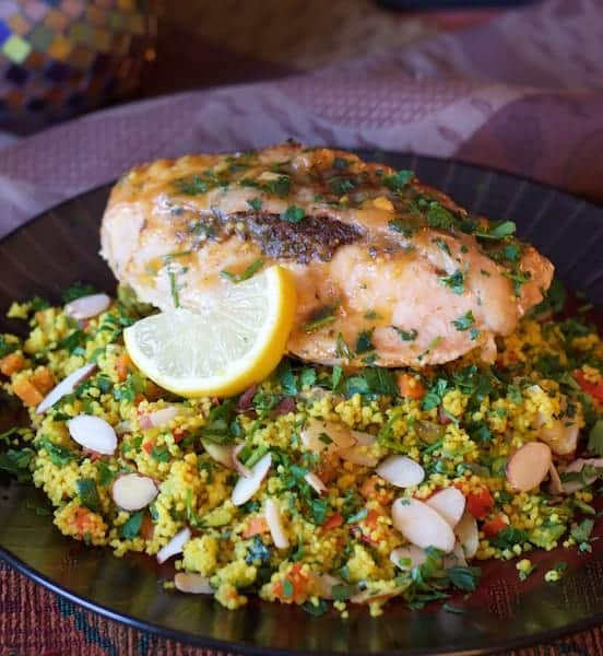 Chicken Marrakesh with Jeweled Couscous