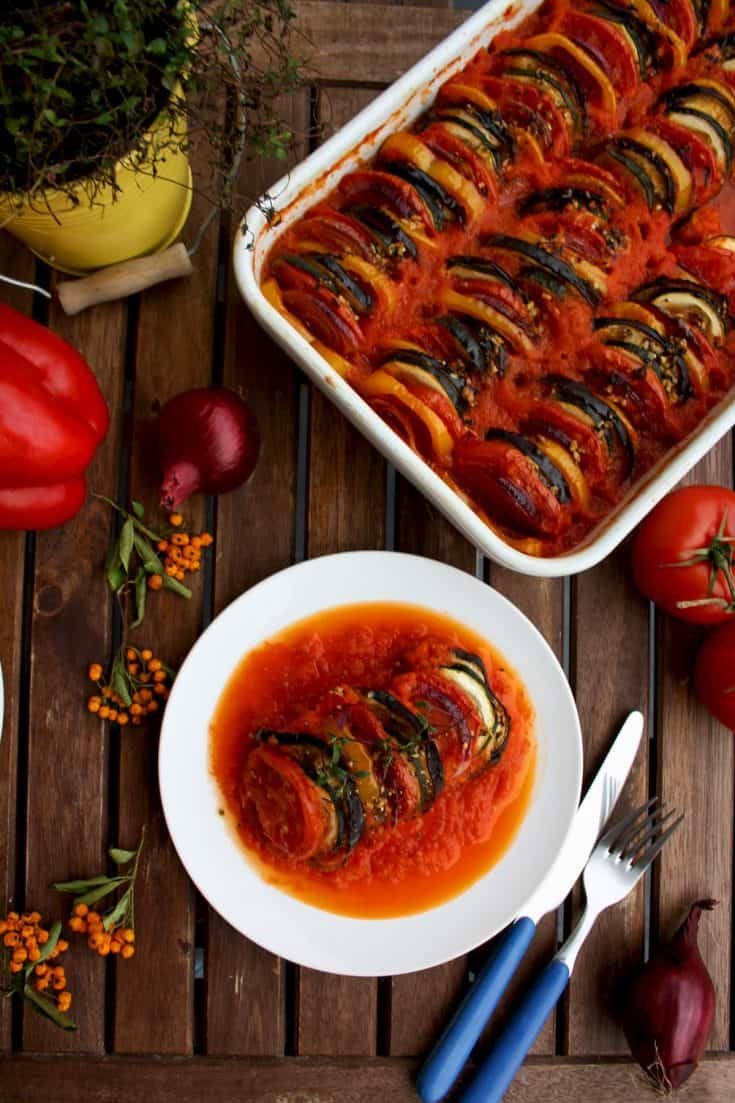 Ratatouille Recipe • Happy Kitchen