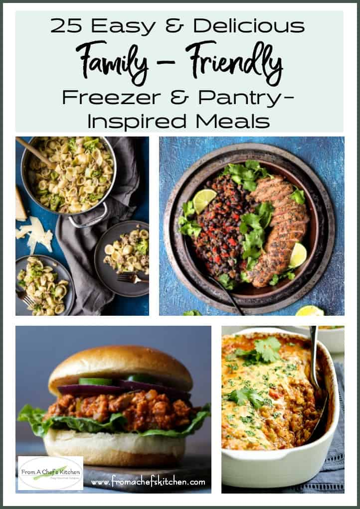 Collage for Round-up of Family-Friendly Meals