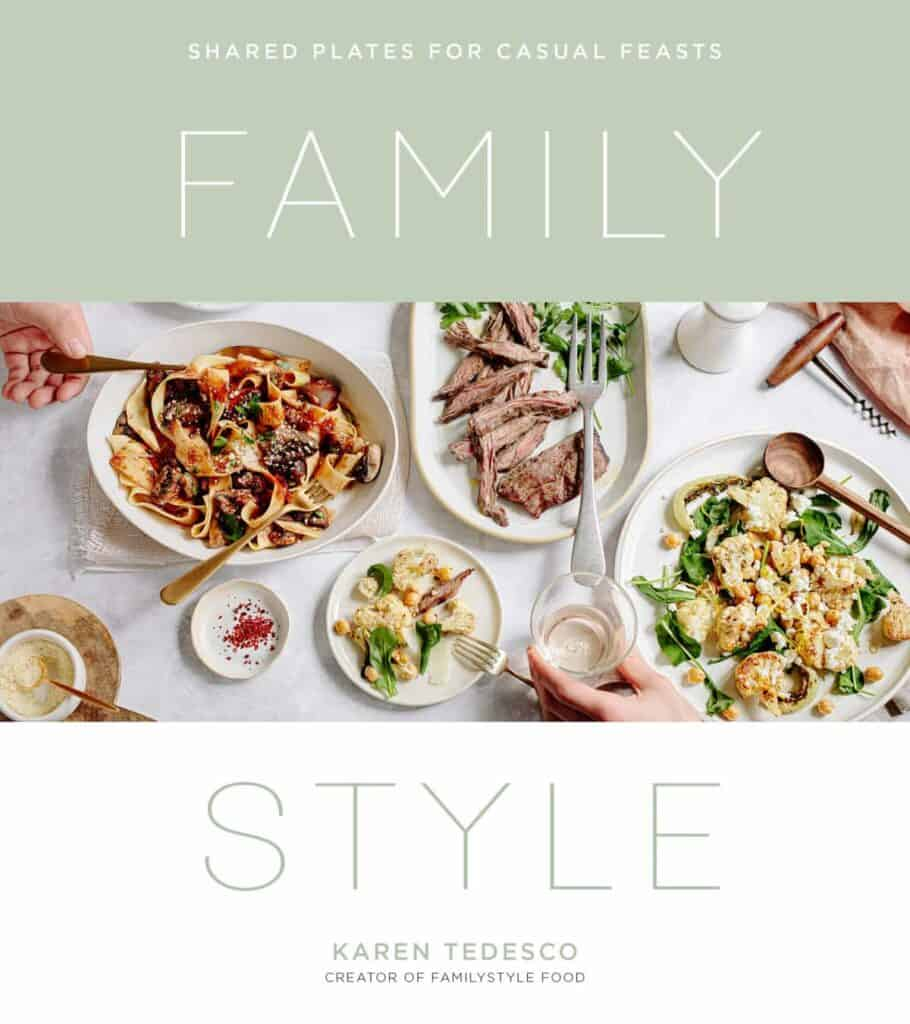 Cover of Family Style Food by Karen Tedesco