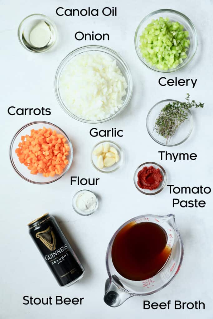Photo of ingredients for Stout Braised Beef Short Ribs